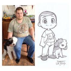 Robert D.J sweet artist and hella guy