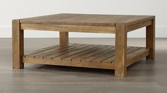 Square Outdoor Patio Coffee Table