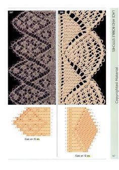 красивая ажурная обвязка вязаных изделий: 20 тыс изображений найдено в…
