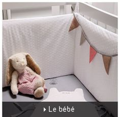 Les tours de lit bébé Diy Bebe, Baby Room Design, Sewing Ideas, Kids Room, Nursery, Rooms, Doll, Organization, Gift Ideas