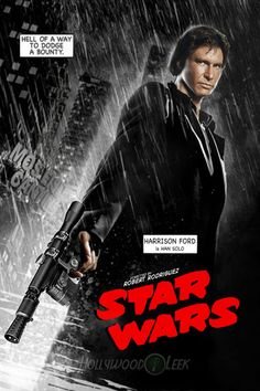 Star Wars + Sin City