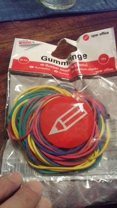 Gumice , banditas elasticas, rubber bands! Croatian Language, Stretch Bands