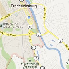 Fredericksburg, VA.  Moving there in a week. I can't wait.
