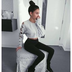 madison beer, outfit, and style image