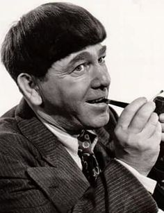Remembering Moe Howard today (Moses Harry Horwitz ~June 1897 – May Hope you're resting well ya knucklehead. The Three Stooges, The Stooges, Great Comedies, Classic Comedies, Moe Howard, Buddy Ebsen, Comedy Acts, Abbott And Costello, Actor John