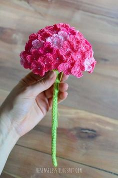 [Free Pattern] Everything About This Crochet Hydrangea Flower Is Fascinating!