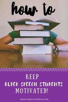 Older elementary, middle, and high school speech students can be tough! Want to keep your older students motivated? Want to reduce the negative feelings about coming to speech? Check out my best tips!