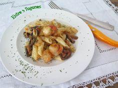 Llega al blog una nueva receta elaborada con pastas Romero: Macarrones con Vieiras, Setas Shiitake y Rábano Negro a la Mantequilla de Tomillo. Se trata de un plato de pasta con sabores intensos, c…