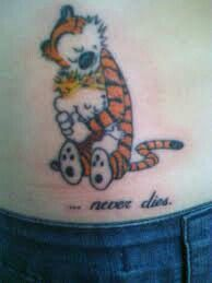 Another calvin and hobbes tattoo ♥ them