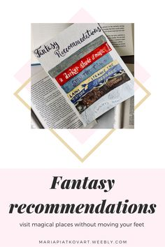 Visit magical places with these 6 fantasy books. #fantasybooks #fantasyrecs #bookrecommendations A Darker Shade Of Magic, Theatre Reviews, Fantasy Books, Book Recommendations, Book Lists, Memoirs, Nonfiction, Blogging, Encouragement