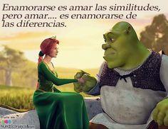 Enamorarse es amar las similitudes… pero amar es enamorarse de las diferencias. #amor