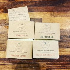 So excited to try out the soap I ordered from It smells soooo good! And it came in compostable packaging! A total win! Oatmeal Soap, Shea Butter Soap, Sustainable Living, Bar Soap, Zero Waste, Eco Friendly, Things To Come, Place Card Holders, Packaging