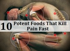 10 Potent Foods That Kill Pain Fast.  Ginger - anti-inflammatory - can it counteract inflammation caused by sugar?