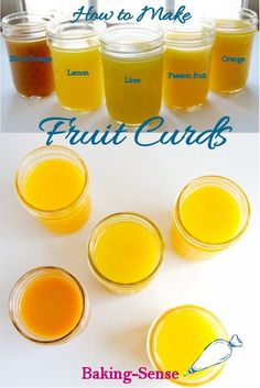 Passion Fruit Curd & Other Fruit Curds Lemon curd is just the beginning. Fruit curds can be made with citrus fruit, mango, passion fruit, and others. Easy to make and so versatile in the kitchen. Jam Recipes, Canning Recipes, Fruit Recipes, Sweet Recipes, Dessert Recipes, Citrus Recipes, Dessert Sauces, Mango Curd, Grapefruit Curd
