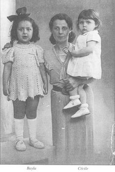 Baya Mandelbaum age 7 was sadly murdered in Auschwitz with her mother and little sister Cecile on August 30, 1942.