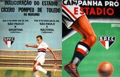 São Paulo Futebol Clube - A inauguração do Estádio Cícero Pompeu de Toledo