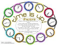Time Game Freebie