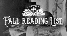Strange graves, messages from beyond the veil, bizarre legends and enduring mysteries. Find your next morbid must-read on the Cult of Weird fall reading list.