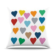 #hearts #love #heart #projectm #white #rainbow #colour #color #blocks #bright #kess #kessinhouse #artforthehome