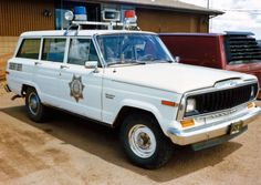 Teller County Sheriff´s (Colorado). Full-size Jeep Cherokee sometime during 1980s. Photo by Juhani Sierla