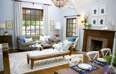 eclectic country l - Eclectic - Living room - Images by HGTV   Wayfair