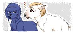 Dog!Ayato and Dog!Naki ||| Tokyo Ghoul Dog AU Fan Art by poochiena on Tumblr