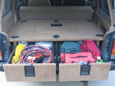 Cargo Drawer/Storage Idea