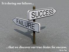 Success... failure... success
