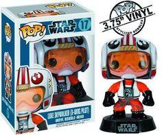 Funko - Bobble Head Star Wars - Luke Skywalker Pilote 10cm