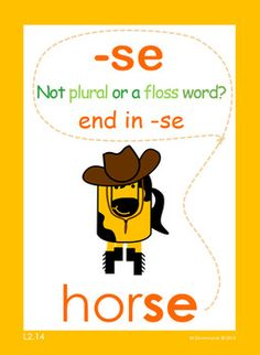 Teaching the inner dynamics of words is essential to reading and spelling success. In this lesson, the student will learn that most words will end in |se| and not a single |s|.  LiteraSee Concepts Illustrated targets the core of why many students struggle to read and spell.