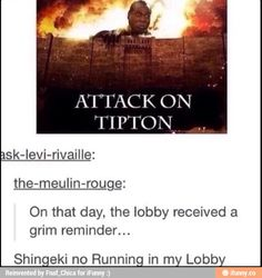 This is too perfect lol #funny #attackontitan #sweetlifeofzackandcody