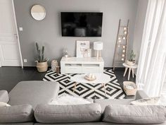 Comfy Minimalist Living Room Design Ideas ~ Home Decor Journal Home Living Room, Interior Design Living Room, Living Room Designs, Small Living Rooms, Living Room Decor Inspiration, Bedroom Decor, Home Decor, Salons, Minimalist Living