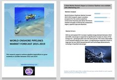 Onshore Pipelines Market Pipeline Construction, Construction Business, Research Report, Market Research, Period, Infographic, Marketing, Infographics, Information Design