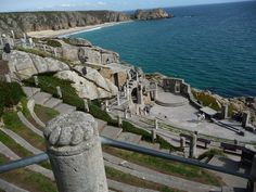 The wonderful Minack Theatre, Porthcurno, Cornwall