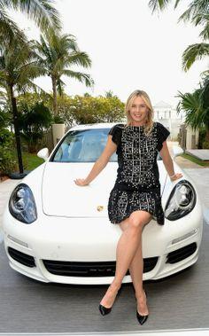 Maria Sharapova - Porsche Media Night in Miami, March 18-2014  #WTA #Sharapova