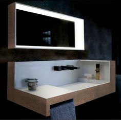 Fully intergrated sink and storage