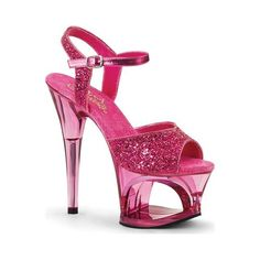 Pleaser Ladies Sexy Shoes Sexy Glitter Shoes - Pleaser Black Sexy Shoes with 7 Inch Heel and a 2 Ankle Strap Sandal. Perfect Sandals for Pole Dancing Lessons by Pleaser Shoes. Pleaser Sexy Shoes Glitter w 7 Inch Heel and Ankle Strap Sandals Sexy High Heels, Platform High Heels, High Heels Stilettos, High Heel Boots, Sandals Platform, Puma Platform, Black Platform, Platform Sneakers, Pink Sandals