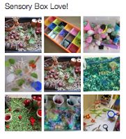 * Sensory Boxes 101 Tips and Inspiration: How To Make A Sensory Box, Theme Ideas, and Frequently Asked Quesitons