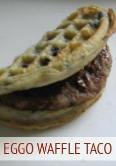 This waffle taco recipe takes the cake! Recipe courtesy of Amber Pretty Dutton.