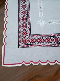 How To Make Ornaments, Tablecloths, Natural Linen, Machine Embroidery, Cross Stitch, Delicate, Traditional, Antiques, Fabric