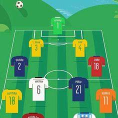 El once del Mundial más buscado por internet.