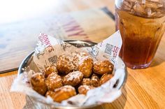Golden Fried Corn Nuggets. The perfect blend of sweet and savory.