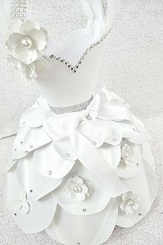 Paper Dress Templates DIY Paper Flower Dress Templates &