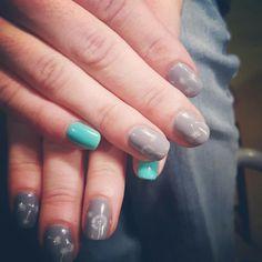 Gel polish mani  Dandelion nails