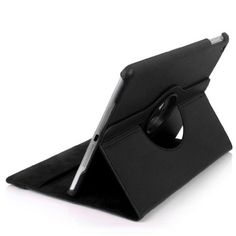 E2G Case® PU Leather 360 Degree Rotating Stand Case Cover for The New iPad air mini release Nov 2013 with Stylus & Screen Protector (Ipad Mini, Black) - http://www.computerlaptoprepairsyork.co.uk/new-product-releases/e2g-case-pu-leather-360-degree-rotating-stand-case-cover-for-the-new-ipad-air-mini-release-nov-2013-with-stylus-screen-protector-ipad-mini-black