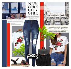 """""""Yoins 8"""" by followme734 ❤ liked on Polyvore featuring H&M, yoins, yoinscollection and loveyoins"""