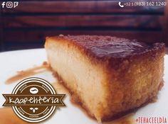 El Flan de Elote está listo! Les aseguramos que cada bocado les encantará!  Servicio a domicilio al: (983) 162 1240.  #Promociones #KáapehCOMBO #Desayunos #Káapehtear #Káapehtería #TeHaceElDía #ConsumeLocal #Cafetería #Café #Alimentos #Postres #Pasteles #Panes #Cancún #Chetumal #México
