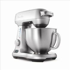 I heart my Breville mixer.  One of my favorite things about it is the digital timer feature.  You can set it to stop mixing automatically after a certain period of time.