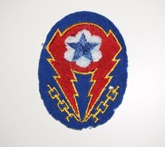 Wool theater made ETO patch WWII US Army