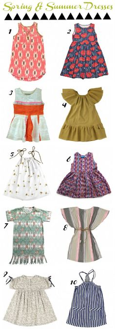 Spring and Summer Dresses!! LOVE!